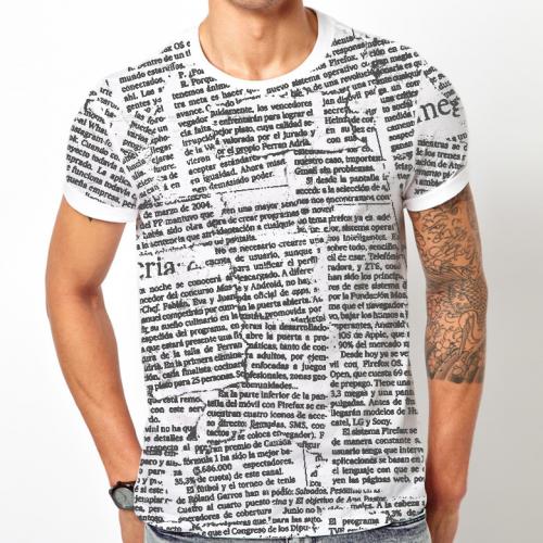 news paper t shirt